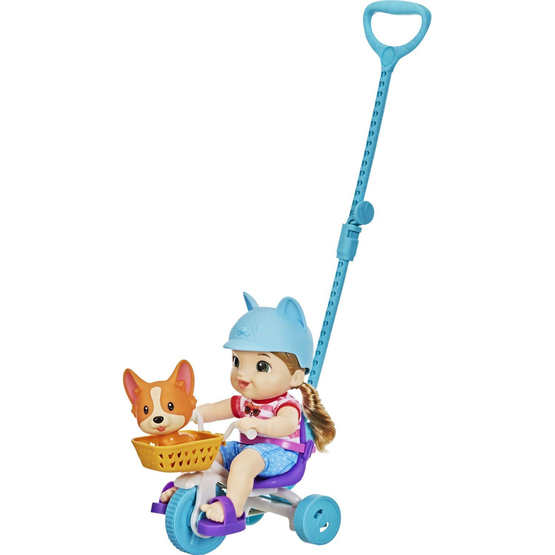 BABY ALIVE Ba Ltls Roll N Pedal Trike Varios Muñecas