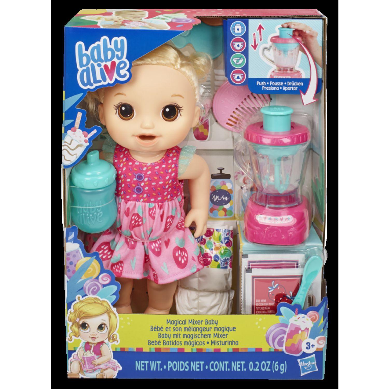 BABY ALIVE Ba Magical Mixer Baby Strawberry Varios Muñecas