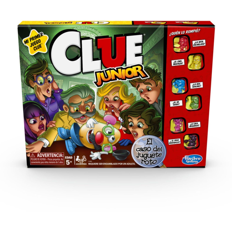 GAMING-HASBRO Clue Junior Varios Juegos de Mesa