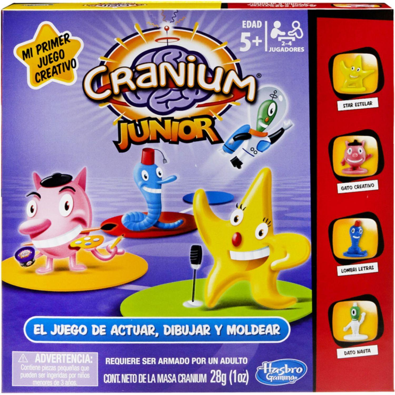 GAMING-HASBRO Cranium Junior Varios Juegos de Mesa