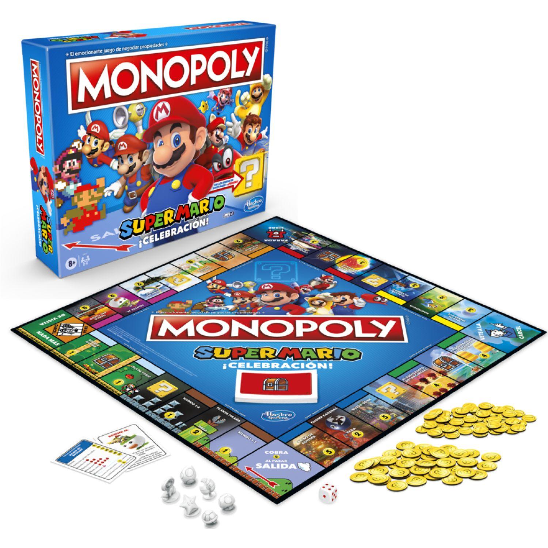 MONOPOLY MONOPOLY SUPER MARIO CELEBRATION Varios Juegos de Mesa