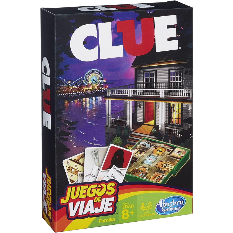 GAMING-HASBRO Clue Grab And Go Varios Juegos de mesa