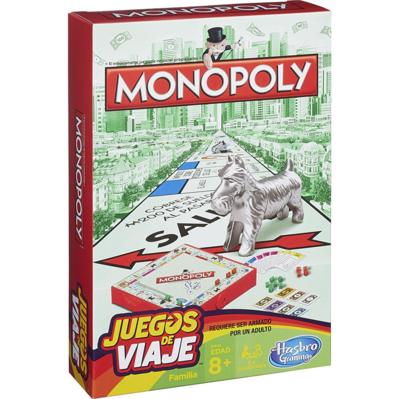 GAMING-HASBRO MONOPOLY GRAB AND GO Varios Juegos de Mesa
