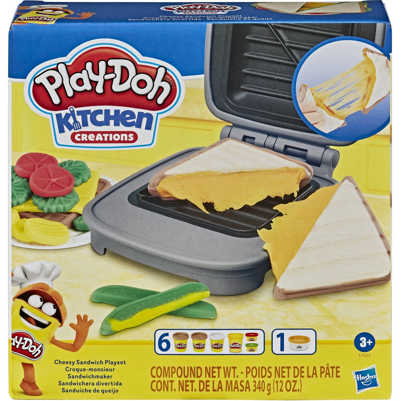 PLAY-DOH Pd Grilled Cheese Playset Varios Modelado y Escultura