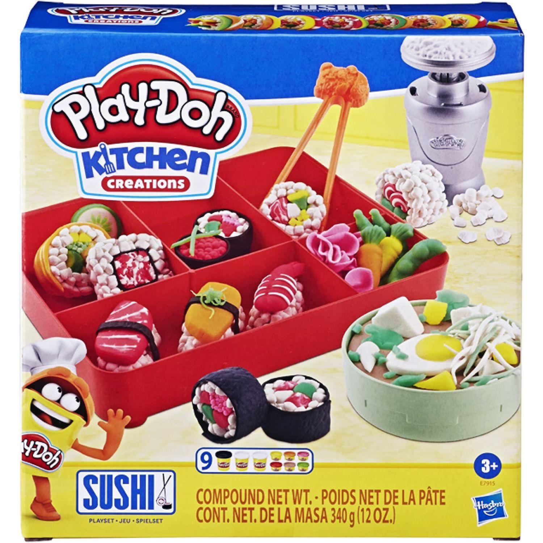 PLAY-DOH PD SUSHI PLAYSET Varios Modelado y Escultura