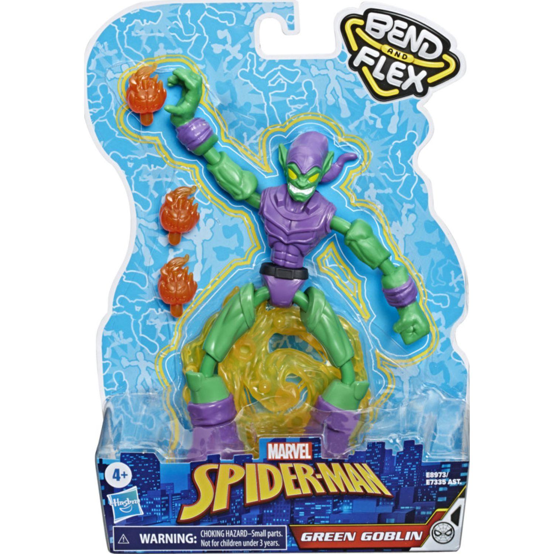 SPIDER-MAN Spd Bend And Flex Green Goblin Varios Figuras de acción