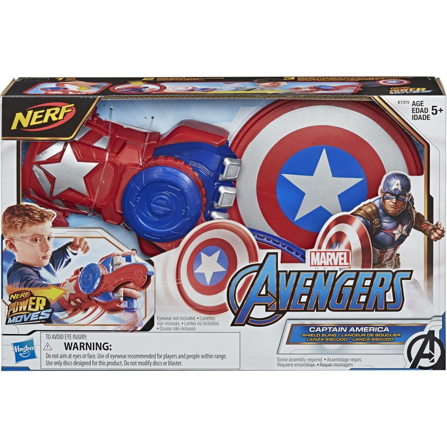 Avengers Avn Signature Moves Role Play Cap Varios Antifaces