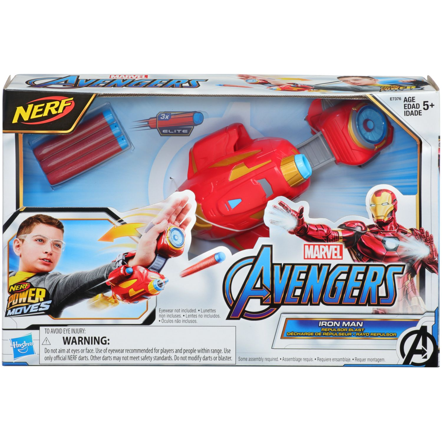 Avengers AVN SIGNATURE MOVES ROLE PLAY IRON MAN Varios Antifaces