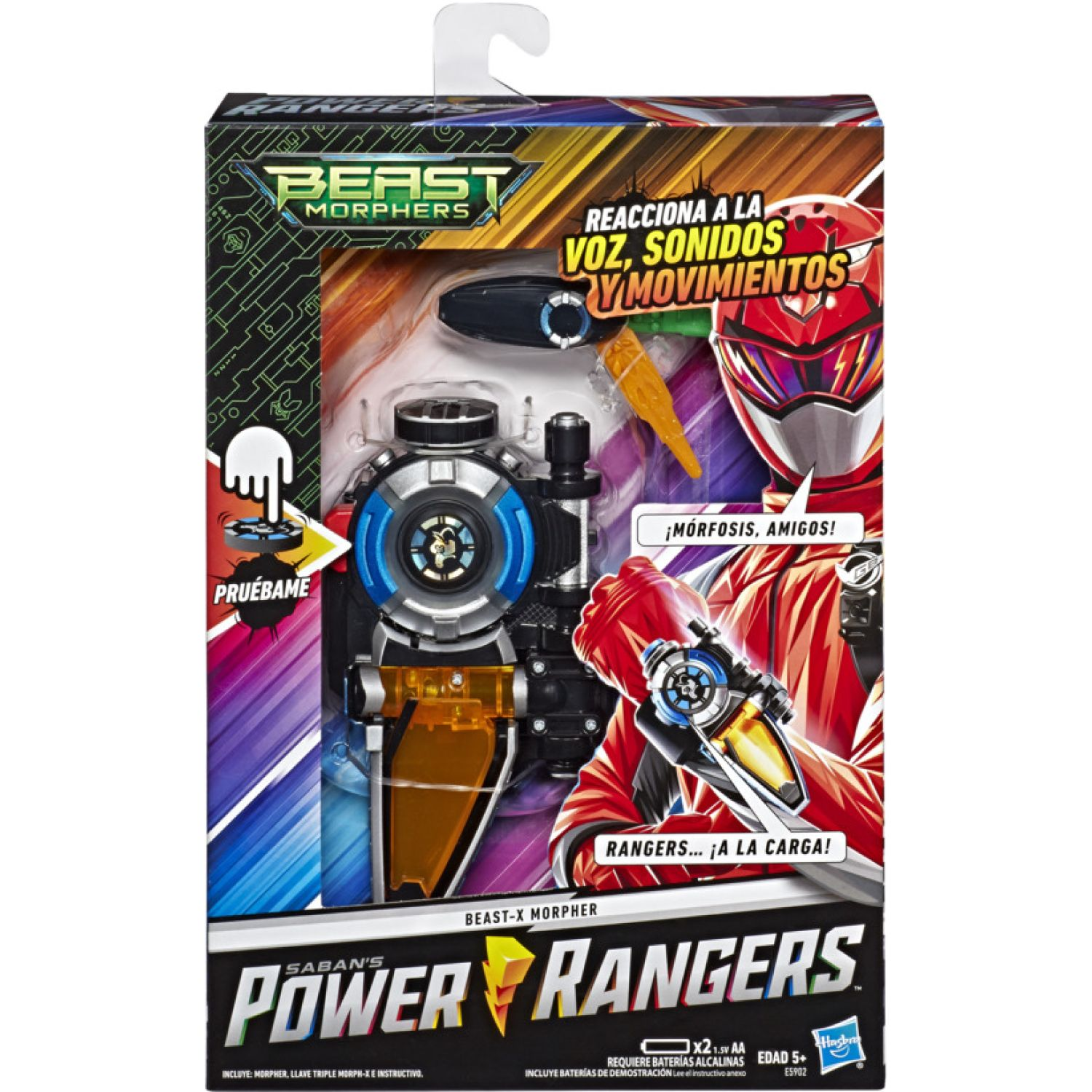 POWER RANGERS Prg Morpher Varios Antifaces