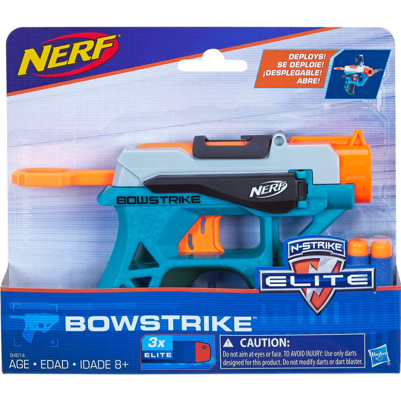 NERF Ner Nstrike Bowstrike Varios Pistolas de agua