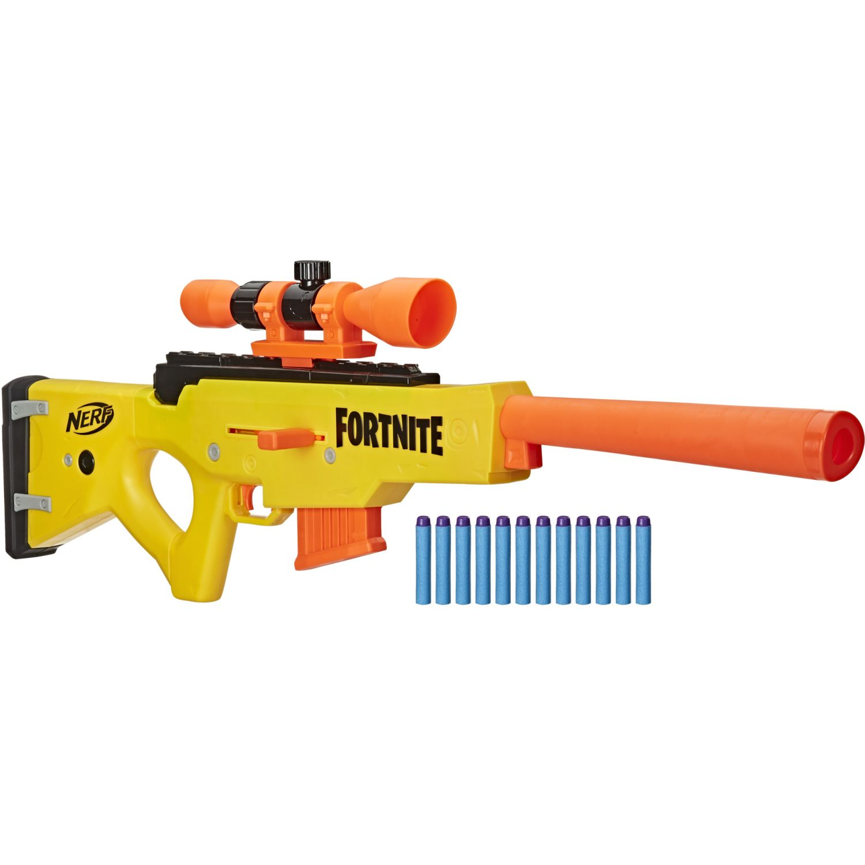 NERF NER FORTNITE BASR L Varios Pistolas de Agua