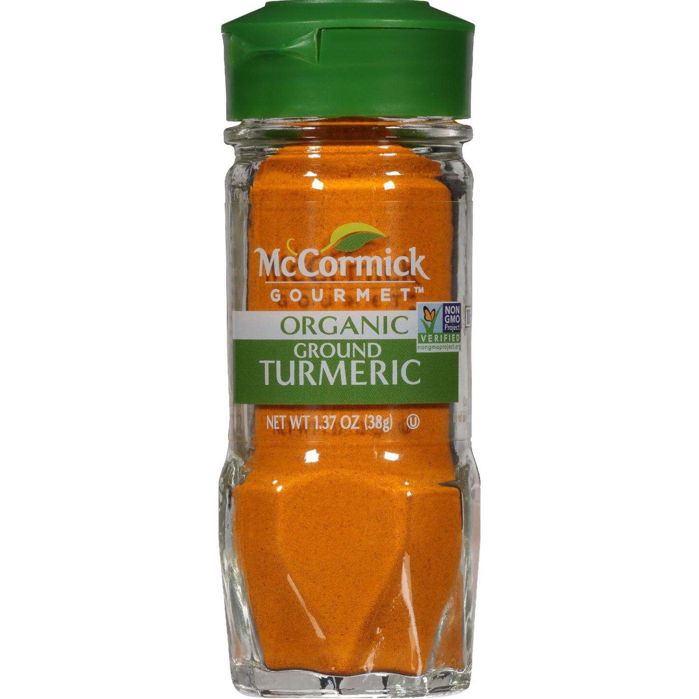 MCCORMICK Curcuma Molida Organica 1.37oz (228g) Sin color Cúrcuma