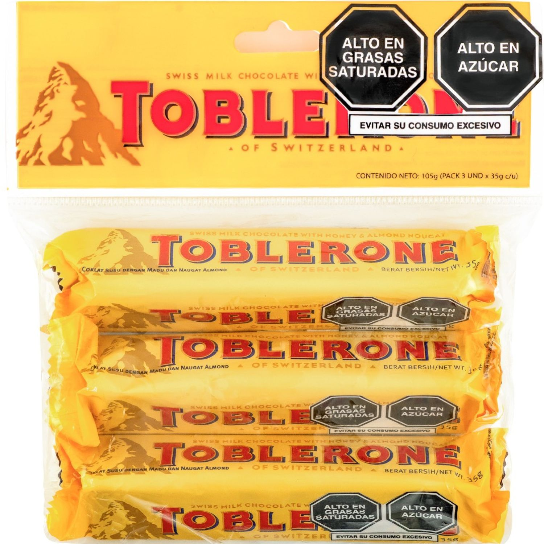 Toblerone Toblerone Pack 3 X35gr Sin color Surtidos de dulces y chocolate