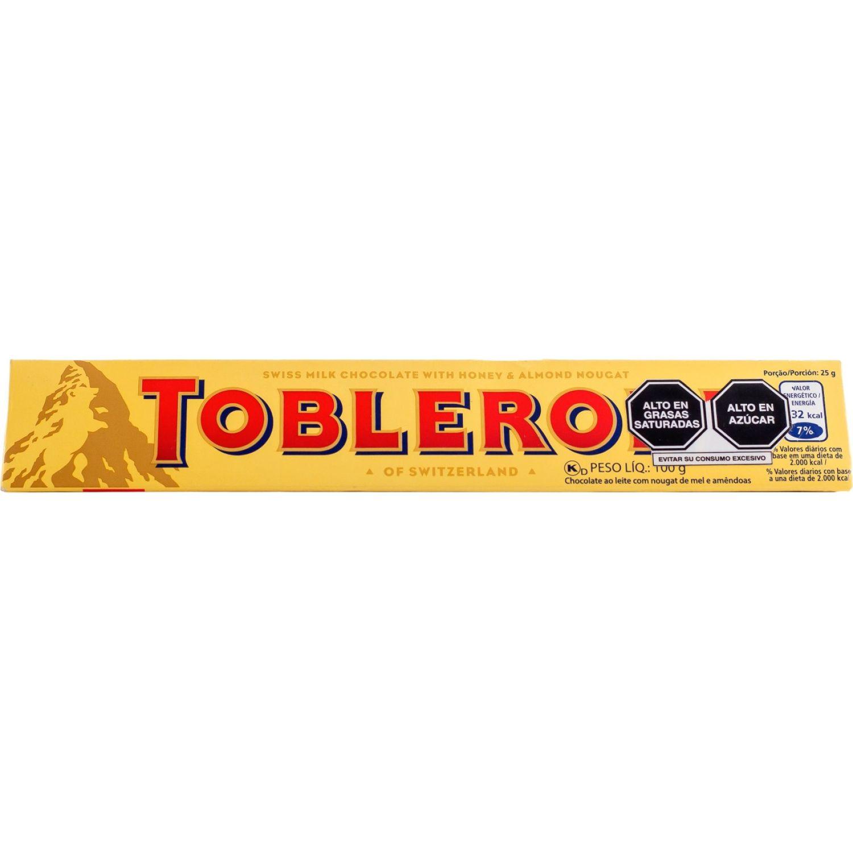 Toblerone Toblerone De Leche  100gr Sin color Surtidos de dulces y chocolate
