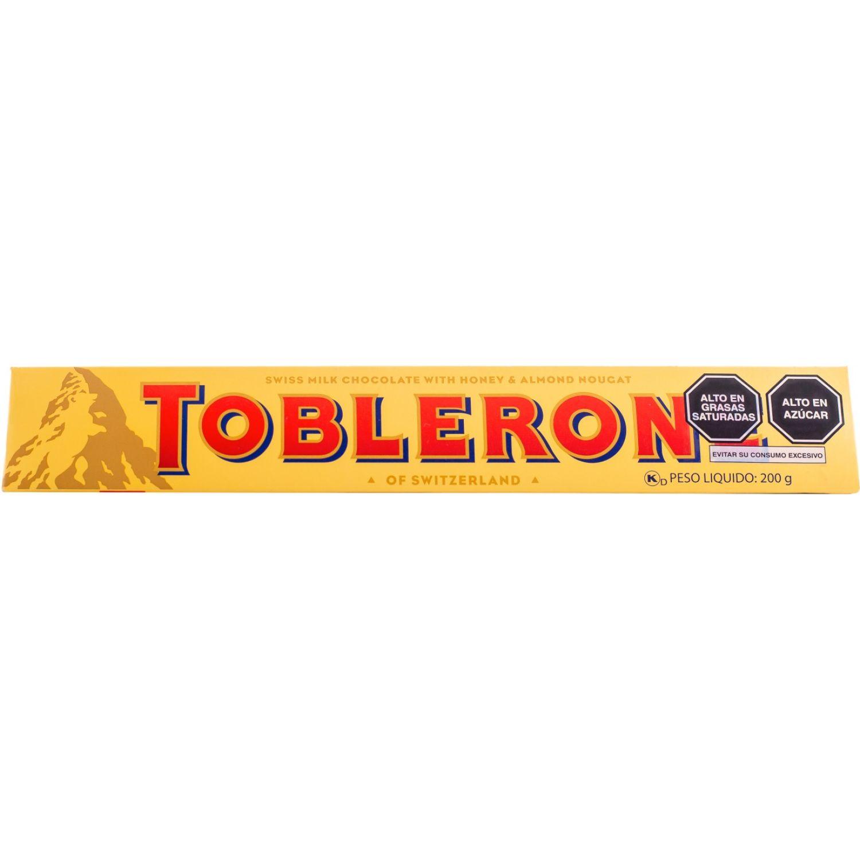Toblerone Toblerone De Leche  200gr Sin color Surtidos de dulces y chocolate