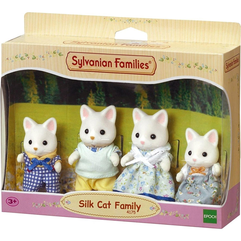 SYLVANIAN FAMILIES Familia De Gatos De Seda MULTICOLOR Muñecas