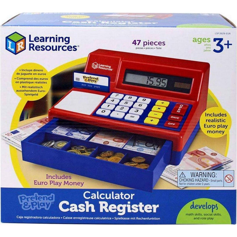 LEARNING RESOURCES Caja Registradora De Juguete MULTICOLOR Habilidades Básicas
