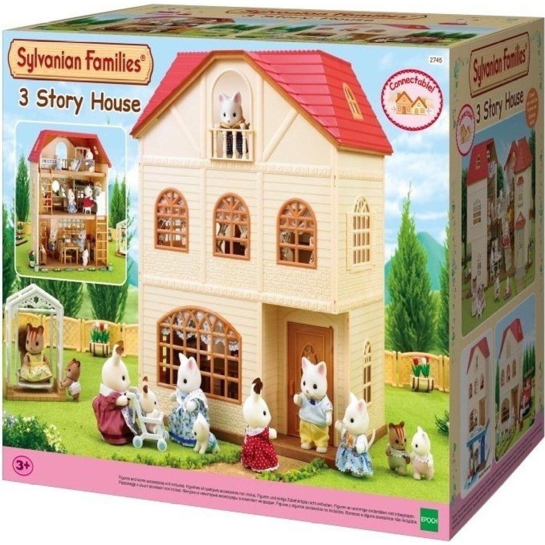 SYLVANIAN FAMILIES Casa De 3 Pisos MULTICOLOR Casas de muñecas