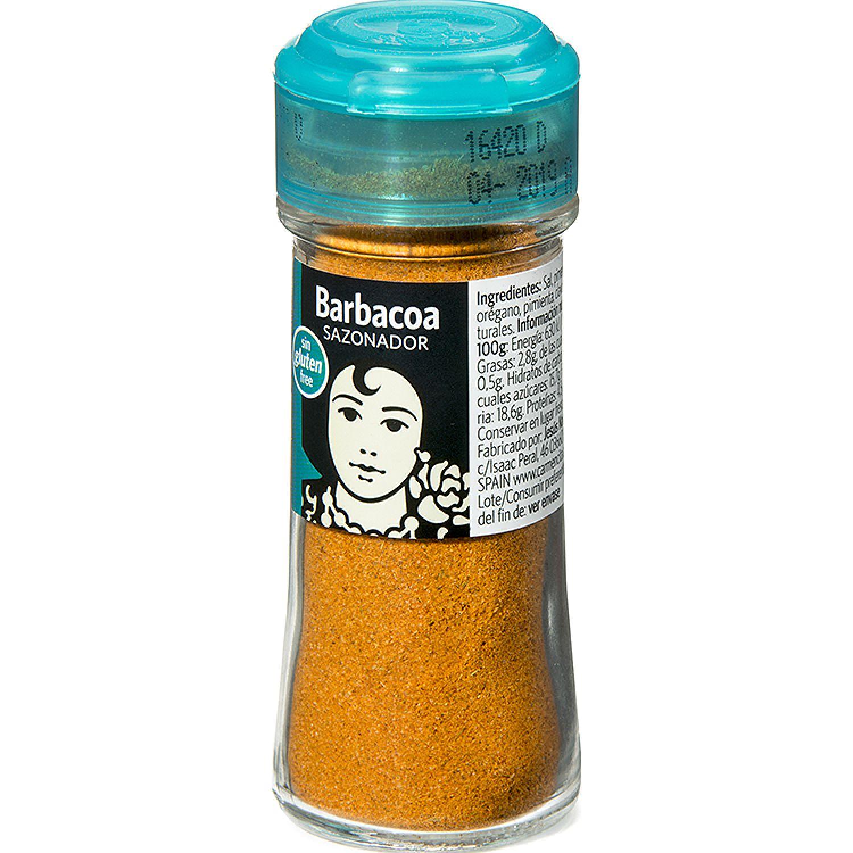 Carmencita Sazonador Barbacoa X 44 G Tb Sin color Hierbas, especias y condimentos regalos