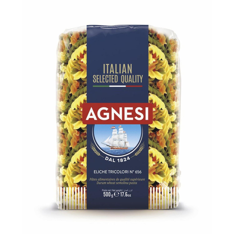 AGNESI Eliche Tricolor 500g Sin color Leche de arroz