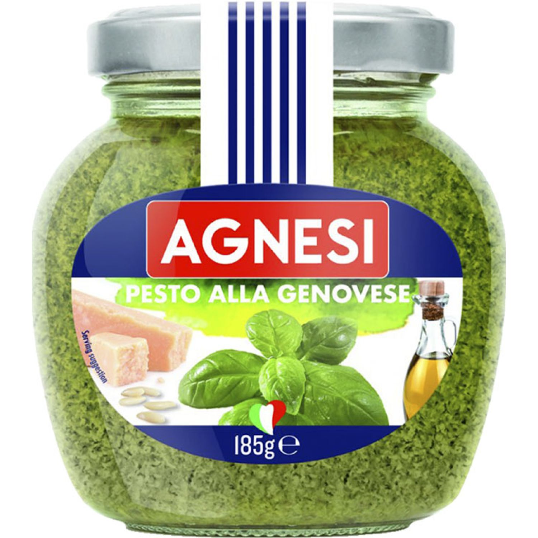AGNESI Pesto A La Genovese 185gr Sin color Pesto