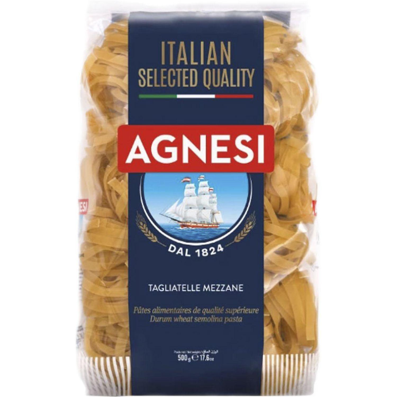 AGNESI Tagliatelle Mezzanie 500gr Sin color Pastas