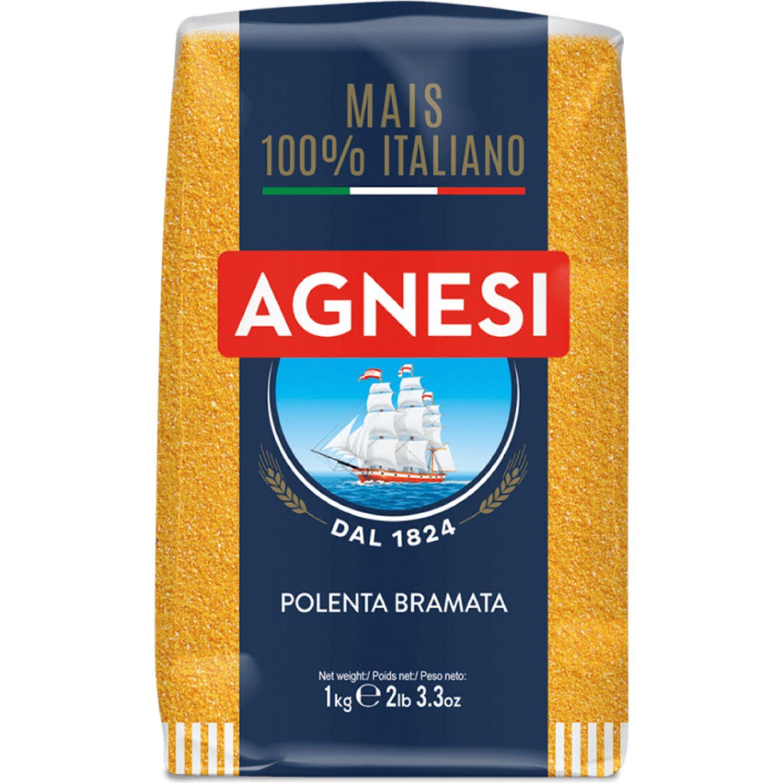AGNESI Polenta Bramata 1000gr Sin color Granos de trigo