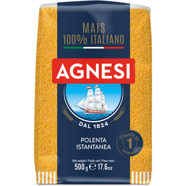 AGNESI Polenta Instantanea 500gr Sin color Granos de trigo