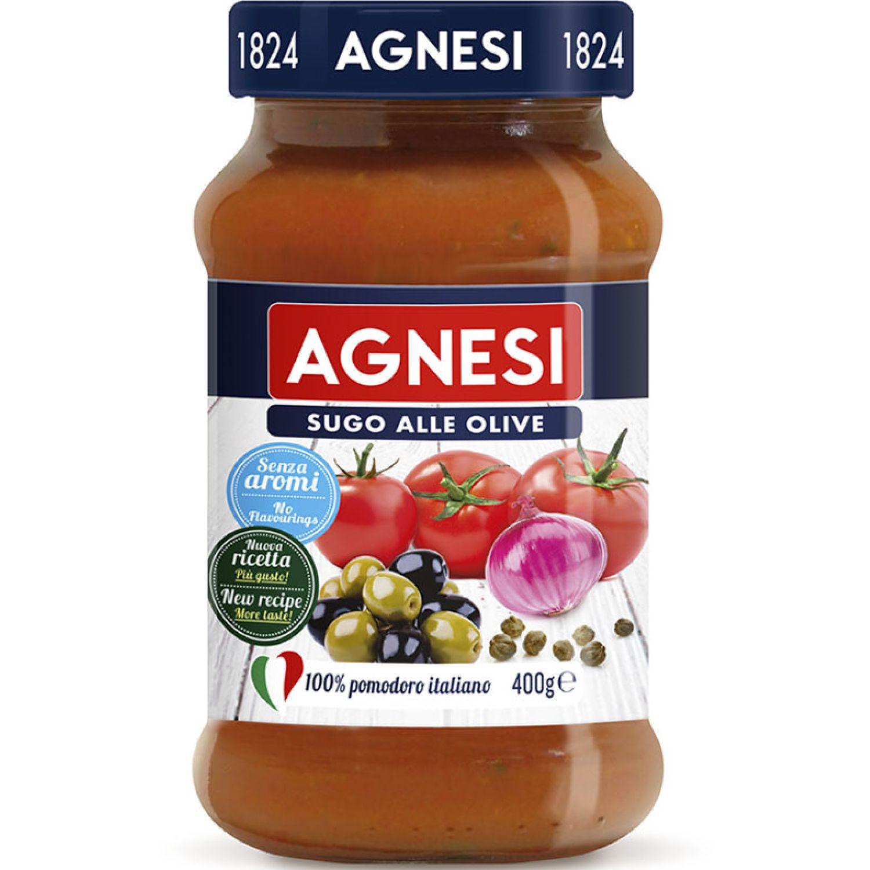 AGNESI Pomodoro E Olive 400gr Sin color Salsa de tomate