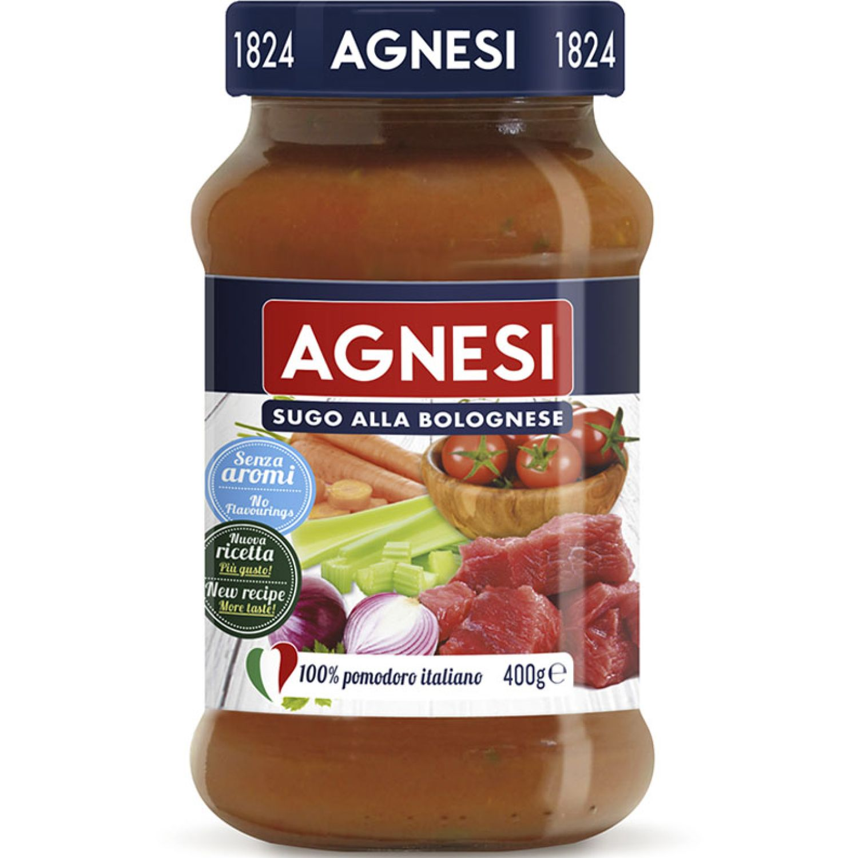 AGNESI Pomodoro Bolognese 400gr Sin color Salsa de tomate