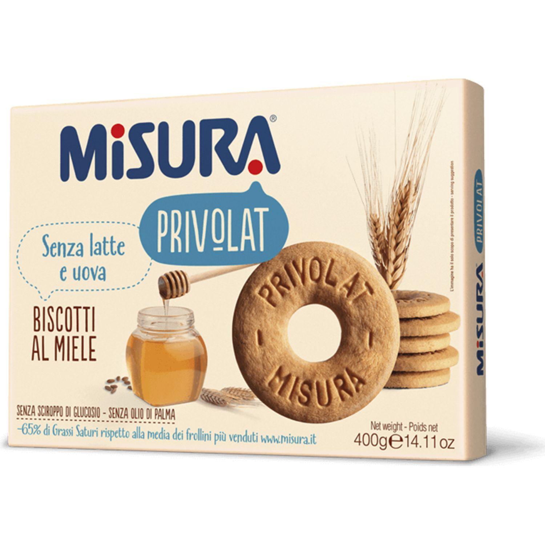 MISURA Misura Galleta Con Miel 400gr. Sin color Pasteles de arroz, patatas fritas y galletas