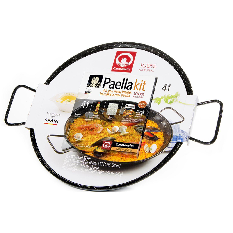 Carmencita Paella Kit + Paellera Esm. X 415g Sin color Paella