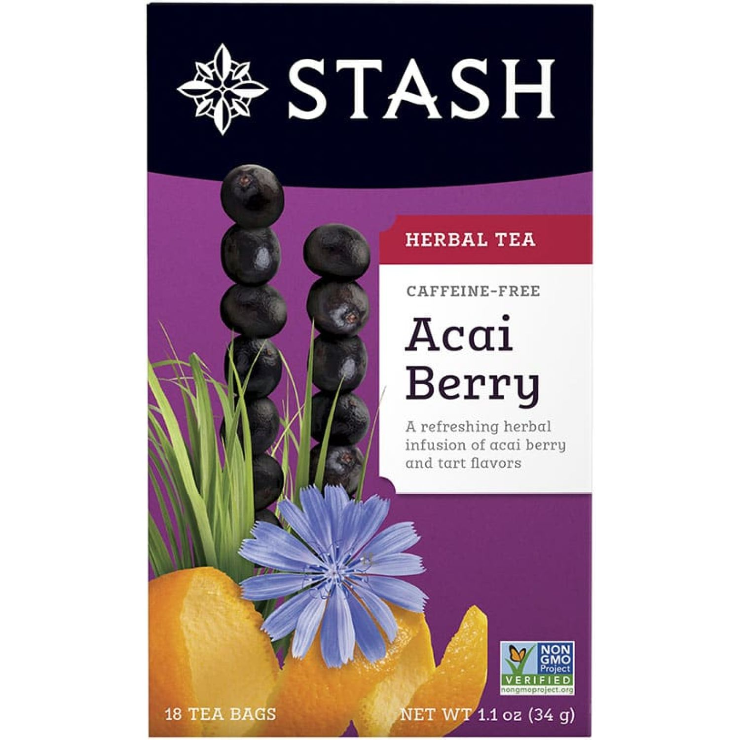 STASH Te Acai Berry Sin color Té