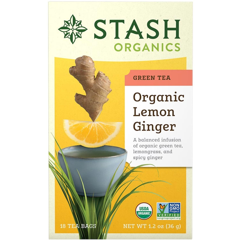 STASH Te Verde Limon Y Jengibre Sin color Té