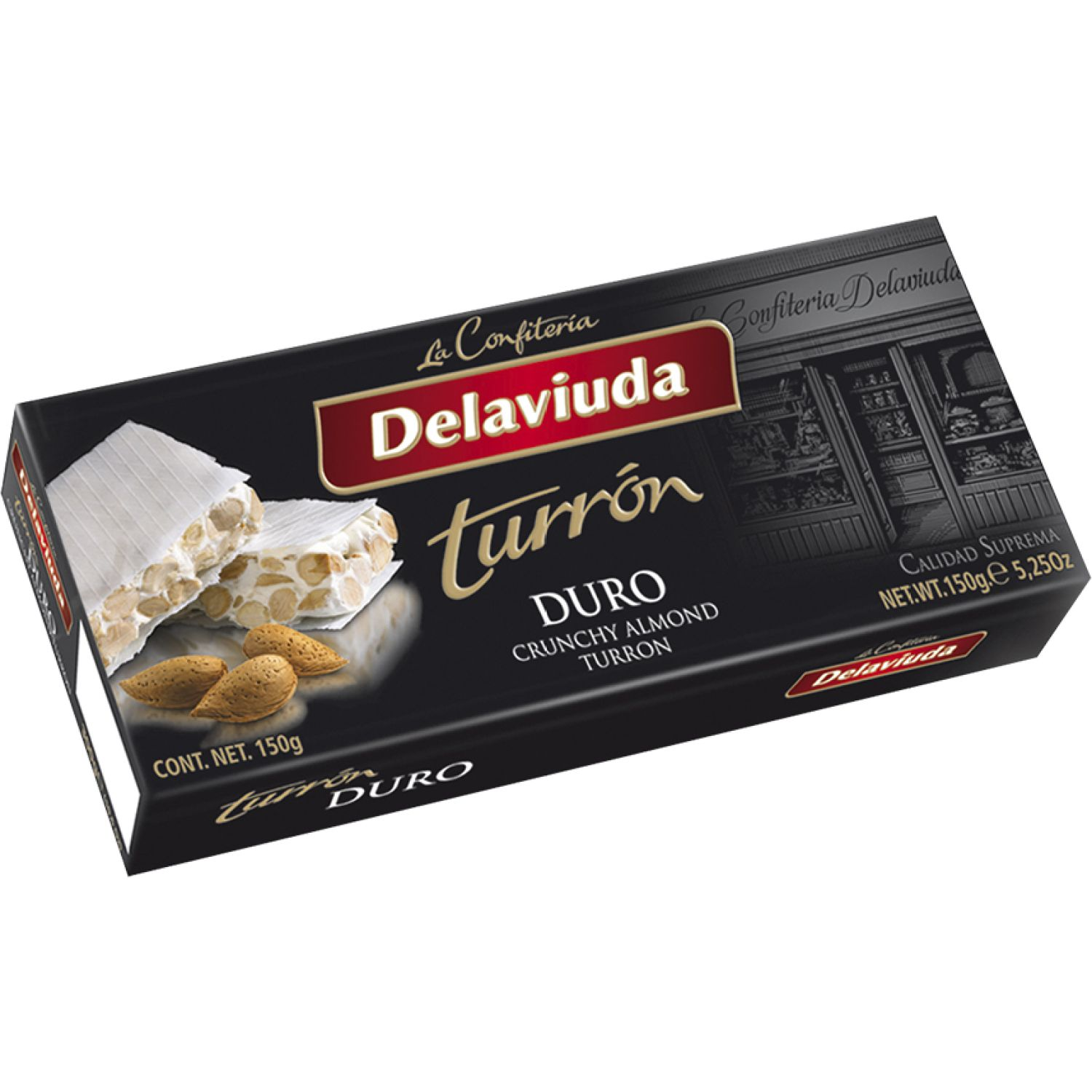 Delaviuda Turron Duro 150 Gr Sin color Traditional y international sweets