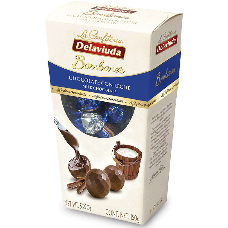Delaviuda Bombones Chocolate C/ Leche 150 Gr Sin color Surtidos de dulces y chocolate