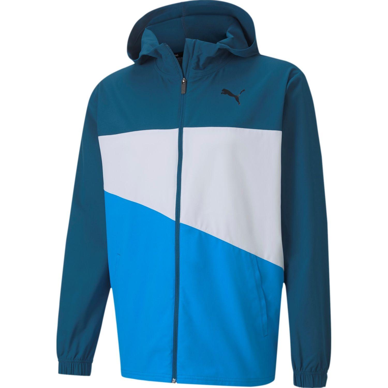 Puma Train Vent Woven Jacket Azul Casacas de Atletismo