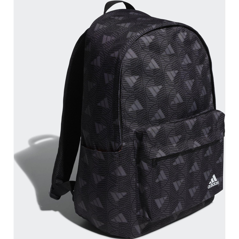 Adidas Cl Aop Negro Mochilas multipropósitos