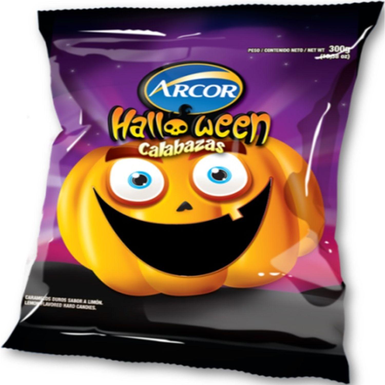 ARCOR Halloween Caramelos Calabaza 300g Sin color Caramelo duro