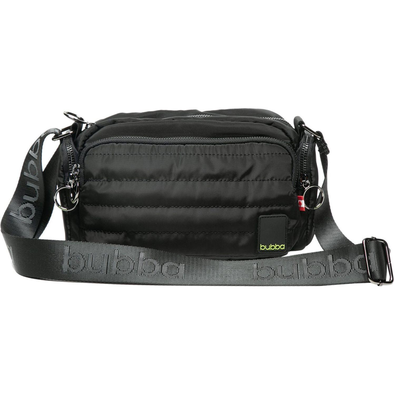 BUBBA BAGS Hand Bag Black Velvet Negro Carteras con Asa