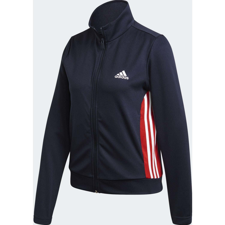Adidas W TS Teamsports Azul / rojo Buzos Deportivos