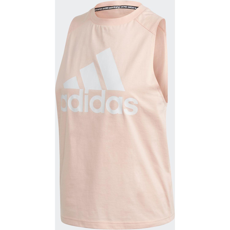 Adidas W Bos Co Tank Melón Camiseta sin mangas
