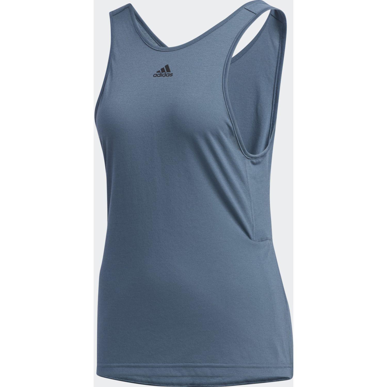 Adidas W AT TK Azul Tank Tops