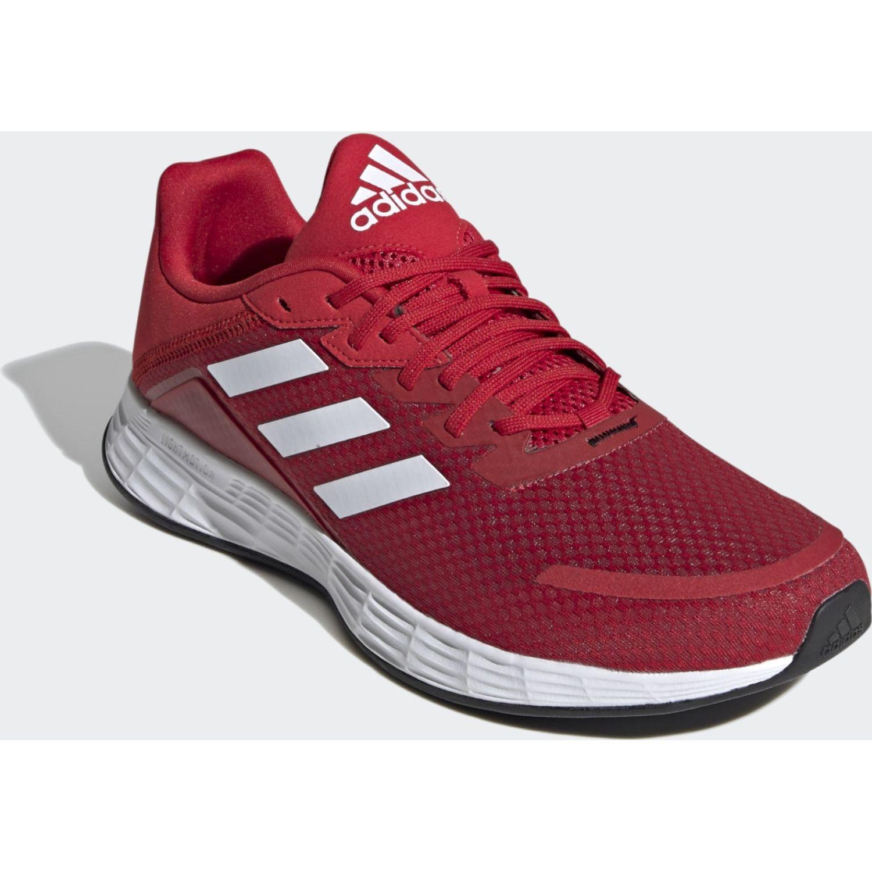 Adidas DURAMO SL Rojo / blanco Running en pista
