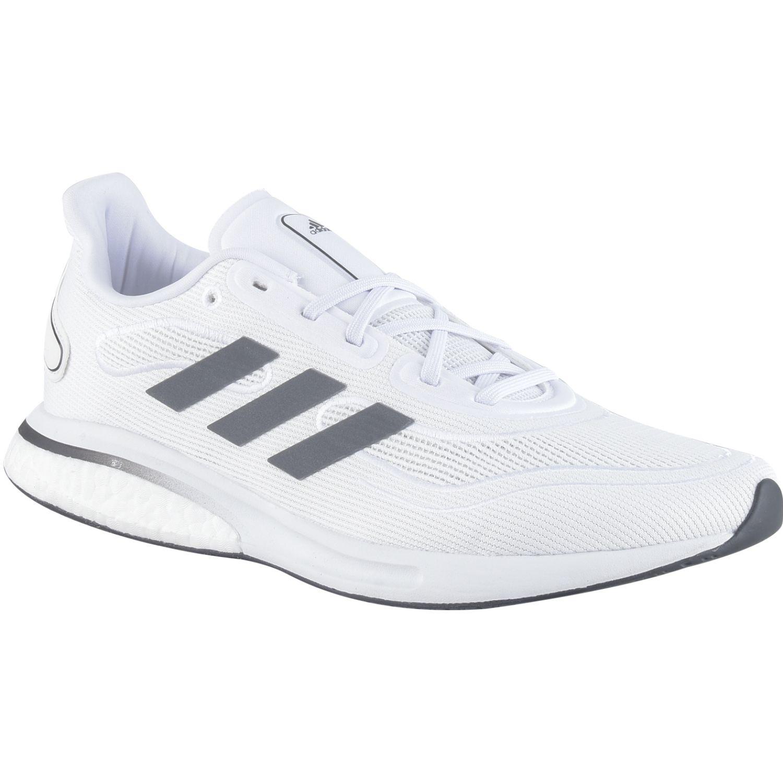 Adidas Supernova M Blanco / negro Running en pista