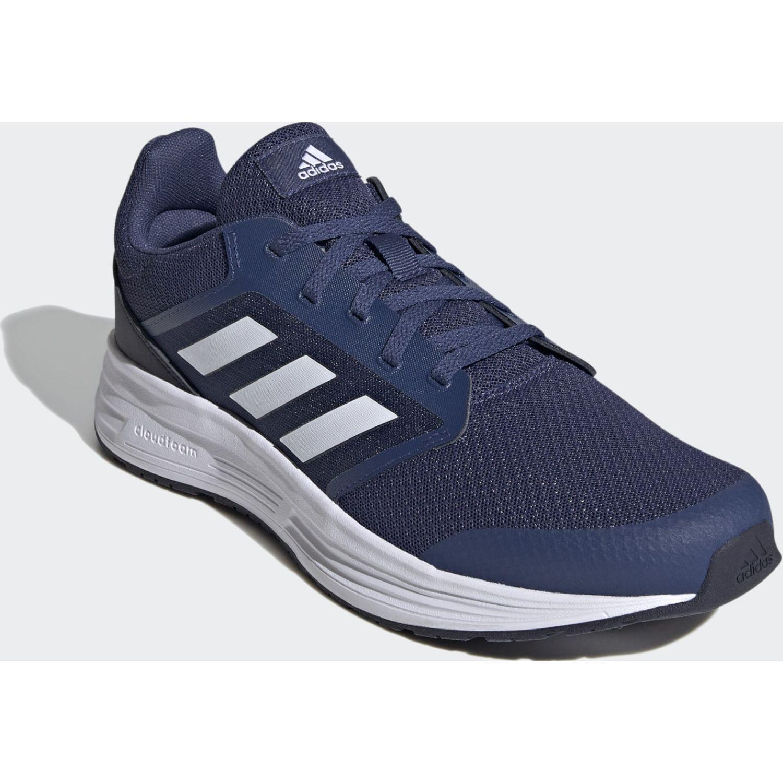 Adidas GALAXY 5 Azul / blanco Running en pista