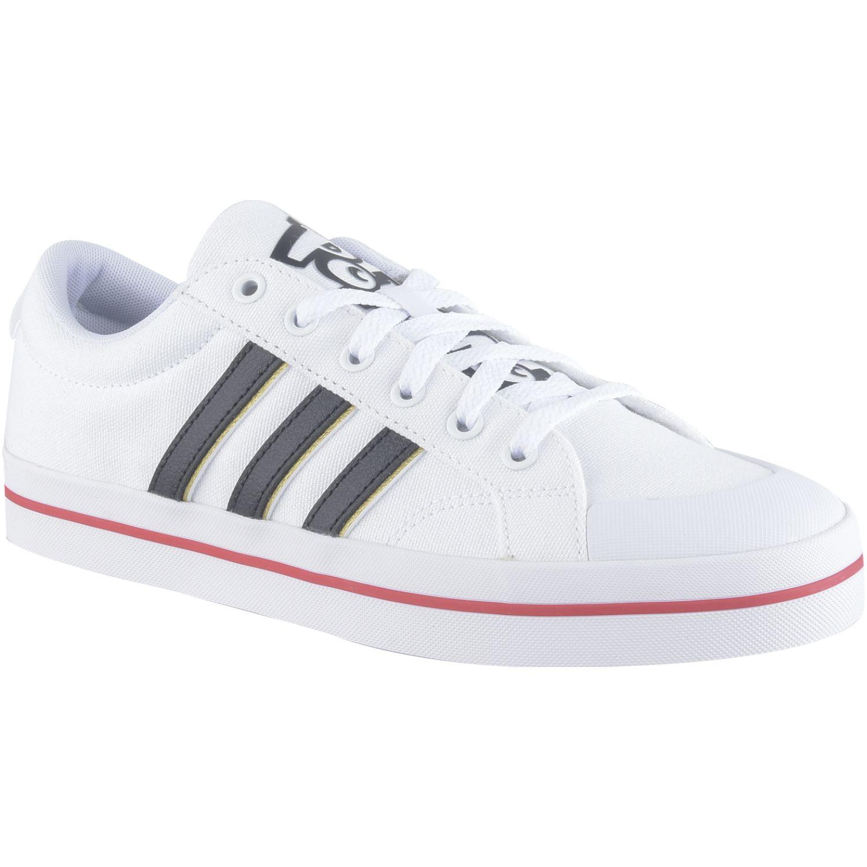 Adidas Bravada Blanco / rojo Para caminar
