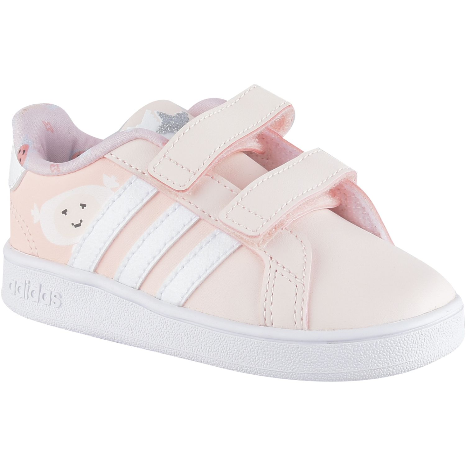 Adidas Grand Court I Rosado Walking