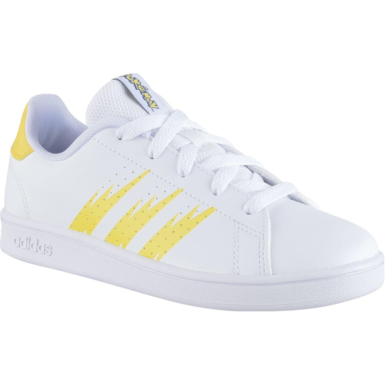 Adidas Advantage K Amarillo / blanco Walking