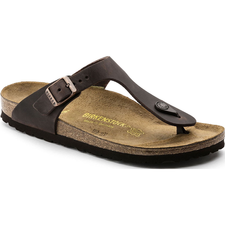 Birkenstock Sandalia Gizeh Oiled Leather MADERA Sandalias deportivas y slides